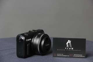 canon eos m full set versi awal body only/ plus lensa kit 15-45mm