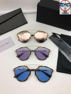 Dior so real rise sunglasses 58-17-145