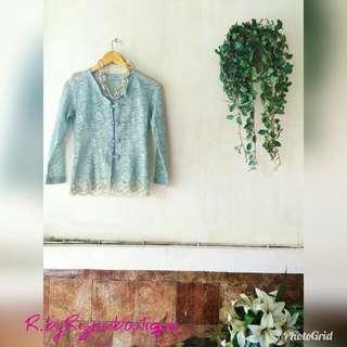 🚫SALE🚫 Blue Lace Abaya