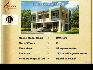 Brahms filinvest homes