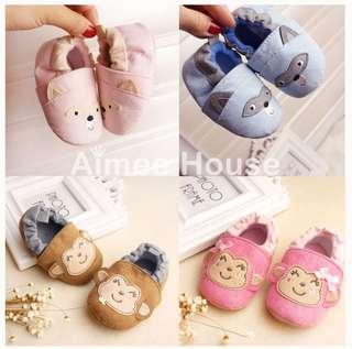 Animal prewalker baby shoes