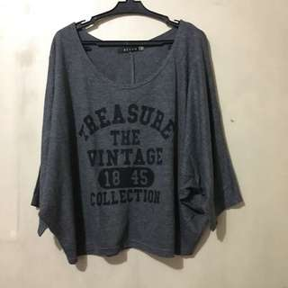 Begum Gray Blouse