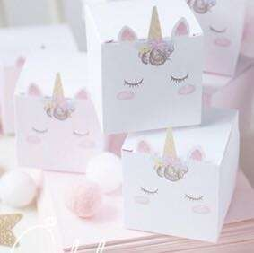 Unicorn box / candy gift box