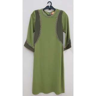 Kids Jubah Dress (Size S).