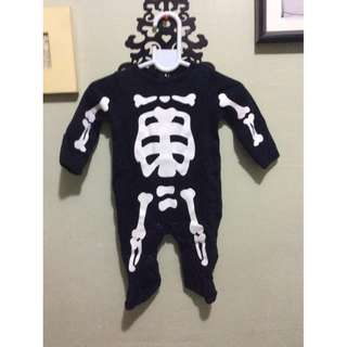 Carter's Skeleton Overall Suit for Newborn