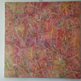 Abstract Oil Painting (one of a kind)