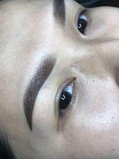 Misty eyebrows