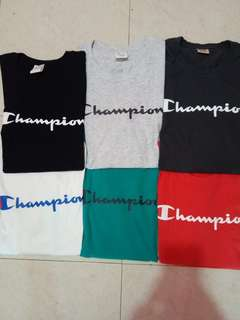 CHAMPION T-SHIRT ORIGINAL - READY STOCK
