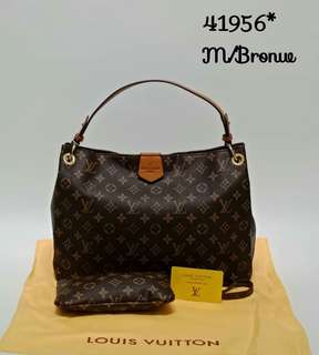 Louis Vuitton Graceful PM Brown Monogram