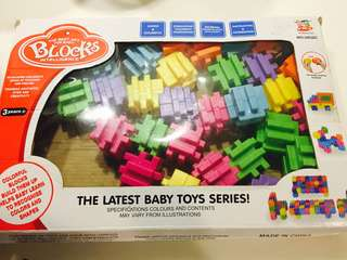 Colourful blocks (help 👶 to recognise Colors and shapes)