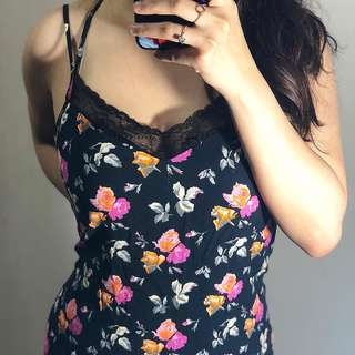 Zara Floral long dress