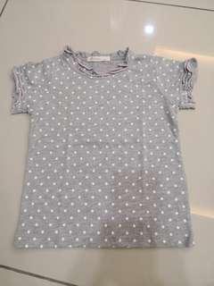 Goodday Polka Dot Shirt (3-4t)