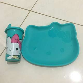 Tupperware hello kitty set