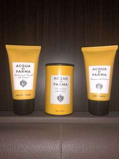 Acqua di parma travel 3set