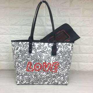 Coach X Keith Haring Reversible City Tote 💃
