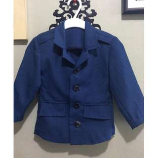 Tailor-made Navy Blue Jacket for 3y.o. Boy