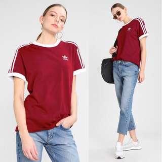 🚚 🌐《預》英國🇬🇧直購 Adidas 愛迪達 三葉草 男款 經典三條槓 純棉短袖T恤BQ5371