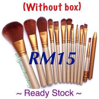 Readystock ! Naked 3 brushes 12pcs (without box)