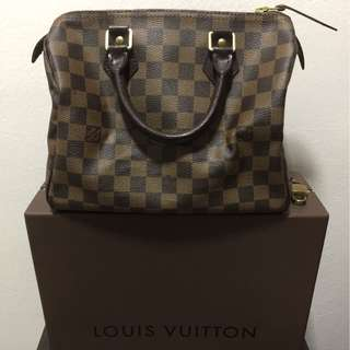 Genuine Speedy 25 Damier LV