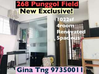 Just MOP 4Room Punggol Fid HDB for sale