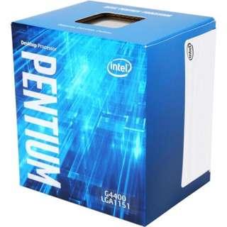 🚚 Intel® Pentium® Processor G4400 3M Cache, 3.30 GHz