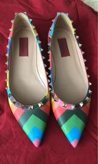 Almost never used valentino shoes