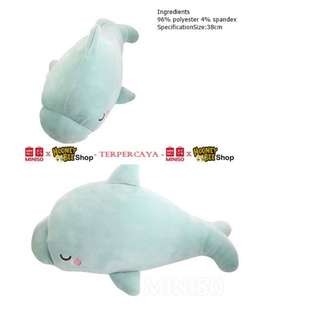 Japan Quality - Boneka Lumba-lumba Miniso Baby Dolphin Doll