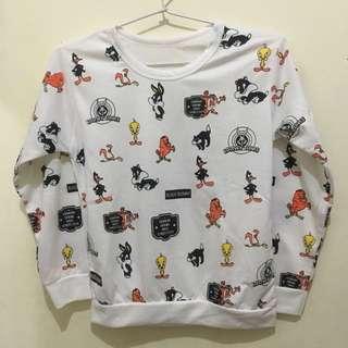 Tweety sweater putih