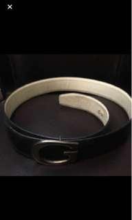 Vintage gucci 黑色腰belt