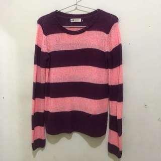 Hnm sweater H&M pink purple