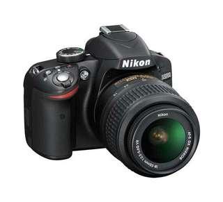 Selling Nikon DSLR camera D3200 full set