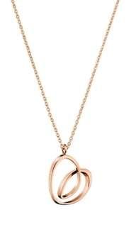 🚚 CK 玫瑰金 項鍊&手環