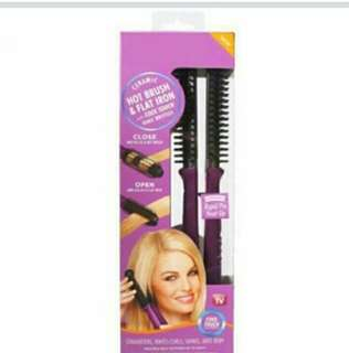 2 in 1 hair iron