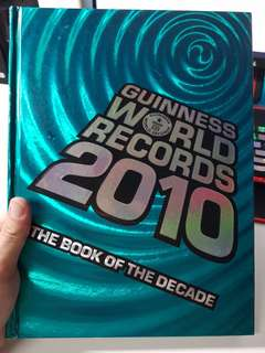 Guinness world records 2010 hard cover