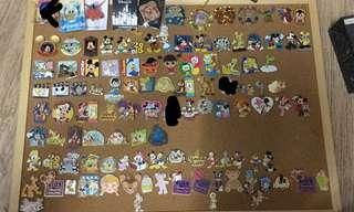 迪士尼Disney 徽章襟章(pin trading)