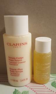 Clarins body set
