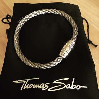 Thomas Sabo Men's Silver Barrel Unity Bracelet