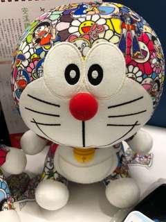 多啦A夢 叮噹 Doraemon  村上隆x Uniqlo 特別版 公仔 超罕! 鉄人兵團圖案