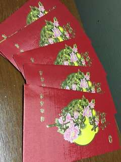(5pcs) Angpow packets-Sogo