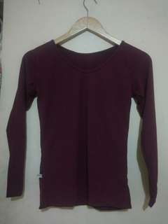 #mausupreme kaos maroon keunguan fit to M