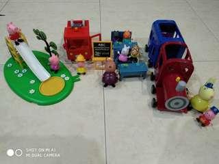 Assorted Peppa Pig Toy Set