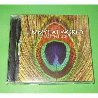 CD JIMMY EAT WORLD : CHASE THIS LIGHT ALBUM (2007) EMO ALTERNATIVE