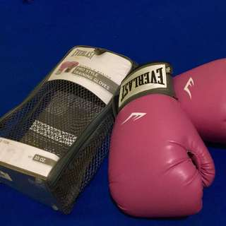 Everlast Boxing Gloves (Pink-10oz)