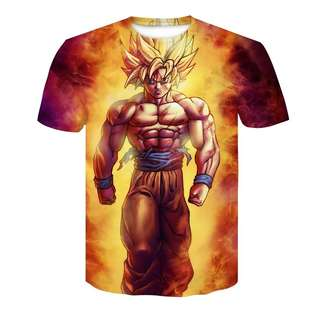 Dragon Ball Z Goku Summer Fashion Tees