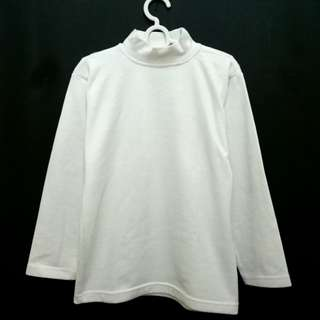 Long Sleeve Turtleneck White