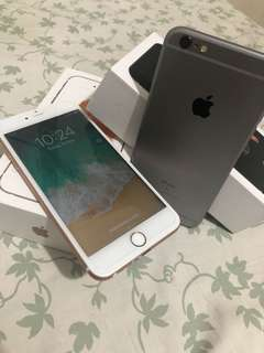Iphone 6s plus 64gb factory unlock complete