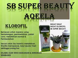 KLOROFIL SB SUPER BEAUTY