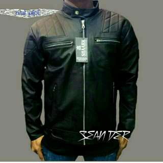 Jaket semi kulit model bechkam