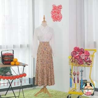 🍿 Vintage Midi Skirt VS1300