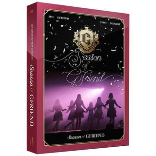 GFRIEND- SEASON OF GFRIEND DVD